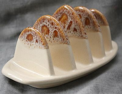 Fosters Pottery Honeycomb Toast Rack