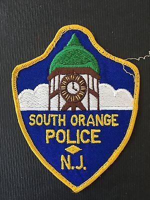 South Orange  New Jersey  Police  Shoulder  Patch