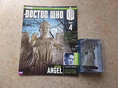 Doctor Who Figurine Collection Part 4 Weeping Angel - Free p&p