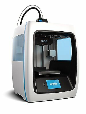 """NEW  Robo C2 Compact Smart 3D Printer with Wi-Fi — 5 x 5 x 6"""""""