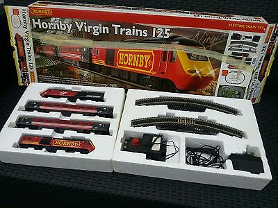 Hornby,virgin Trains 125, Electric Train Set. Boxed R1080