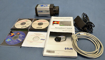 FLIR ThermoVision Thermacam Researcher Pro A20 M Firewire Infrared IR Camera