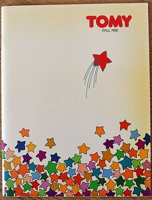Vintage TOMY 1985 Toy Fair Toy CATALOG - Get Along Gang, Snorks, Cabbage Patch