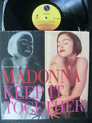 """Madonna 1990 Usa Sire 12"""":""""keep It Together""""(6 Mixes)+Picture Cover-No Uk Issue!"""