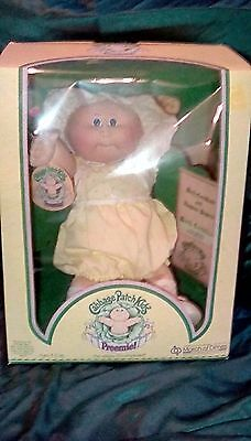 VINTAGE 1980s CABBAGE PATCH KIDS CPK DOLL NEW IN BOX PREEMIE