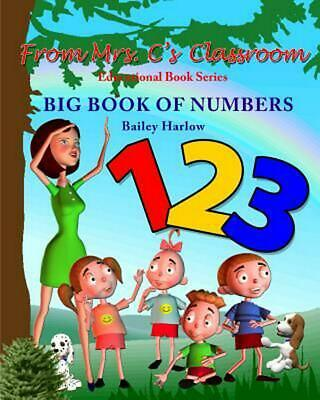 Big Book of Numbers by Bailey Harlow (English) Paperback Book Free Shipping!