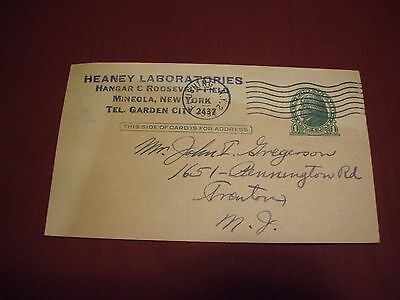 1939 REARWIN & LeBLOND AIRPLANE SPORTSTER Sale Postcard HEANY LABORATORIES