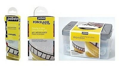 Pebeo Porcelaine 150 Paint Discovery Sets Painting On China Ceramic Oven Bake