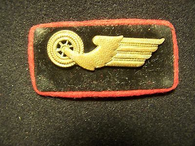 Original Single Vintage  Wwii  German Railway Collar Tab
