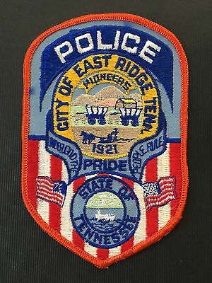 East Ridge Tennessee Police  Shoulder  Patch