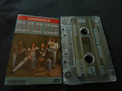 Pseudo Echo Eye Of The Storm Ultra Rare Australian Cassette Single!