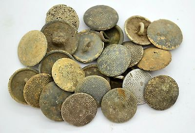 WW2 German Imperial Wehrmacht soldiers uniform buttons