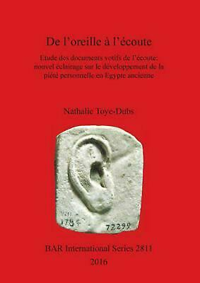 De l'oreille by Nathalie Toye-Dubs (French) Paperback Book Free Shipping!