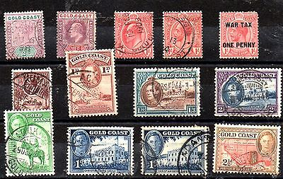 Stamps From The Gold Coast 1898-02.