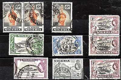 Stamps From Nigeria.1953..