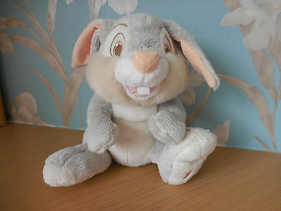 "Disney Store Exclusive 11"" SAT 'THUMPER'  Bunny Rabbit -Bambi Soft Plush Toy VGC"
