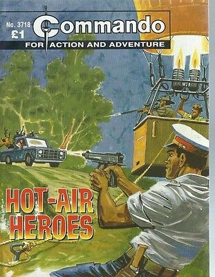 Hot-Air Heroes,commando For Action And Adventure,no.3718,war Comic,2004