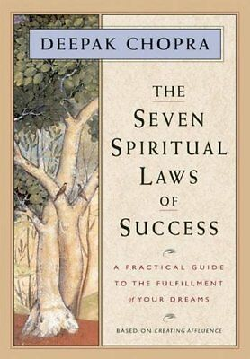 The Seven Spiritual Laws of Success, Chopra, Deepak Paperback Book The Cheap