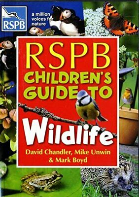 RSPB Children's Guide to Wildlife Book The Cheap Fast Free Post
