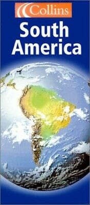 South America (Continental Map) (Continental Map S.) Sheet map, folded Book The