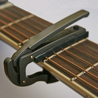 Genuine Pickboy Clicker Lever Action Electric And Acoustic Guitar Capo