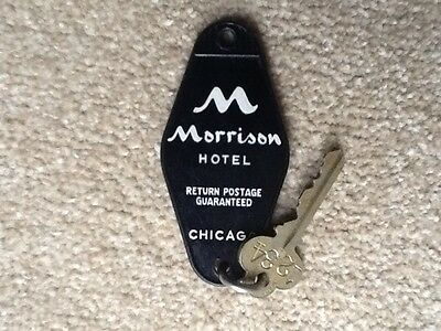 Morrison Hotel Chicago Hotel key and fob