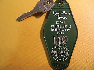 Holiday Inn PA Turnpike Warrendale PA Hotel key and fob room 119
