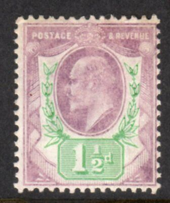 SG223 11/2d Pale Dull Purple & Green UNMOUNTED MINT