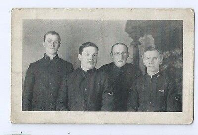 Postcard St Albans Salvation Army 4 Soldiers in Uniform