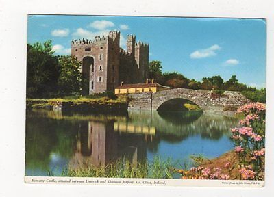 Bunratty Castle Co Clare Ireland 1967 Postcard 872a
