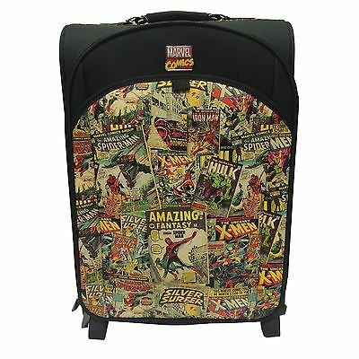 Marvel Comics Retro Trolley Bag Suitcase New & Official Luggage Case