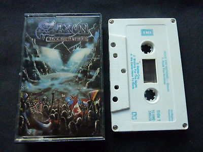 Saxon Rock The Nations Ultra Rare Aussie Cassette Tape!