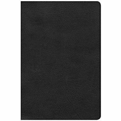 CSB Giant Print Reference Bible, Black Leathertouch, In - Imitation Leather NEW
