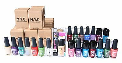 156 x NYC Quick Dry Nail Polish   Assorted   One Off Clearance Price
