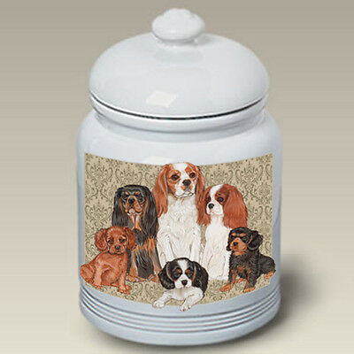 Ceramic Treat Cookie Jar - Cavalier King Charles Spaniel (PS) 52055