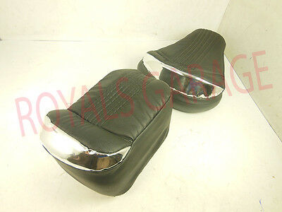 Royal Erado Seat Cover With Backrest Silver  For C5  Classic 350 500Cc
