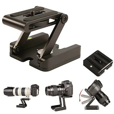 Flex Tripod Z Pan Tilt Camera Bracket Head Photography Studio Stand Mount