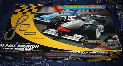 Scalextric F1 Pole Position C1058 with Sound Control System McLaren V Benetton
