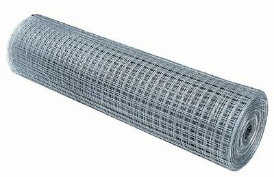 """Wire Mesh 25mm (1"""") Holes 16G 6FT tall 15 Meters Galvanised FreeShipping"""
