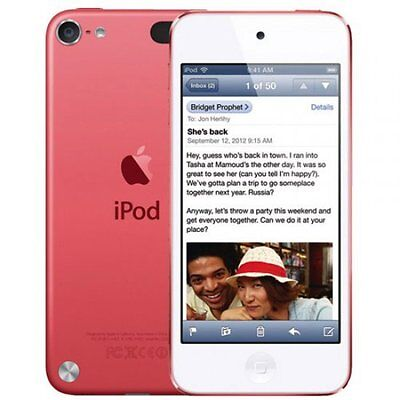 Apple iPod Touch A1421 5th Generation 16GB Portable Digital Music Player Pink