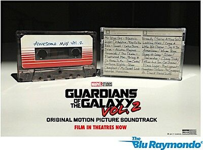 Guardians Of The Galaxy Vol. 2: Awesome Mix Vol. 2 - Cassette Tape NEW SEALED