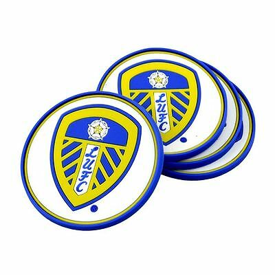 LEEDS UNITED Rubber COASTERS (4 Pack)