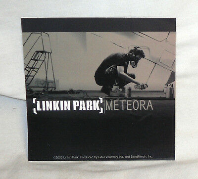 RARE Vinyl STICKER Decal LINKIN PARK Meteora Album Cover S2547 10cm x 10cm