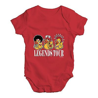 Twisted Envy Duck Legends Tour Baby Unisex Funny Baby Grow Bodysuit