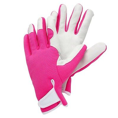 Briers Lady Gardener Pink Gardening Gloves Size Medium