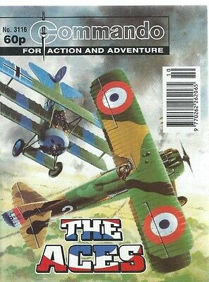 The Aces,commando For Action And Adventure,no.3116,war Comic,1998