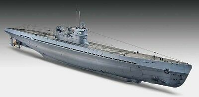 Revell of Germany [RVL] 1:72 U-Boat Type IX C U-505 Late Plastic Model Kit 05114