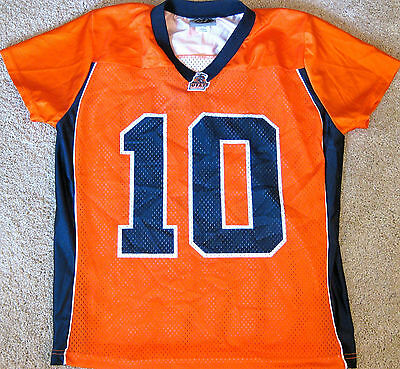 innovative design 5ad19 c8a0c UTEP MINERS FOOTBALL Jersey Ncaa #10 Girl's Small Or Large New! Texas El  Paso