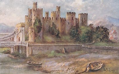No 781 - Conway Castle, North Wales P/card - Photochrom Co. Unused