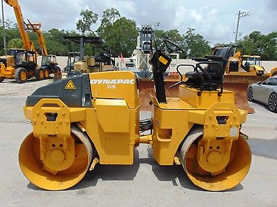 2010 Dynapac Cc-142 Vibratory Tandem Drum Compactor Roller With Water System